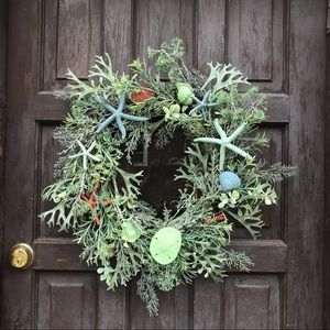 Mermaid Ocean Theme grapevine Wreath